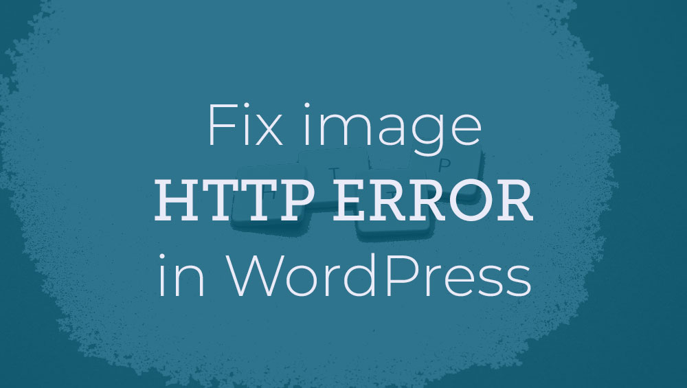how to fix image http error